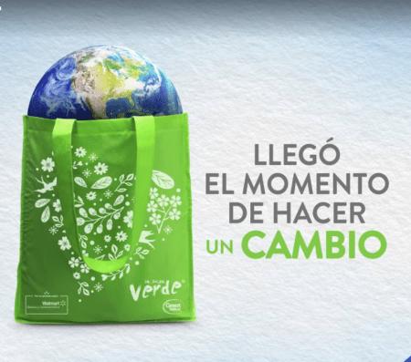 Walmart inicia entrega de medio millón de bolsas reutilizables