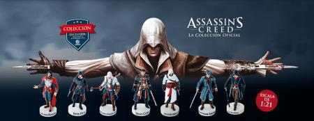 Ubisoft lanza colección oficial de Assassin's Creed