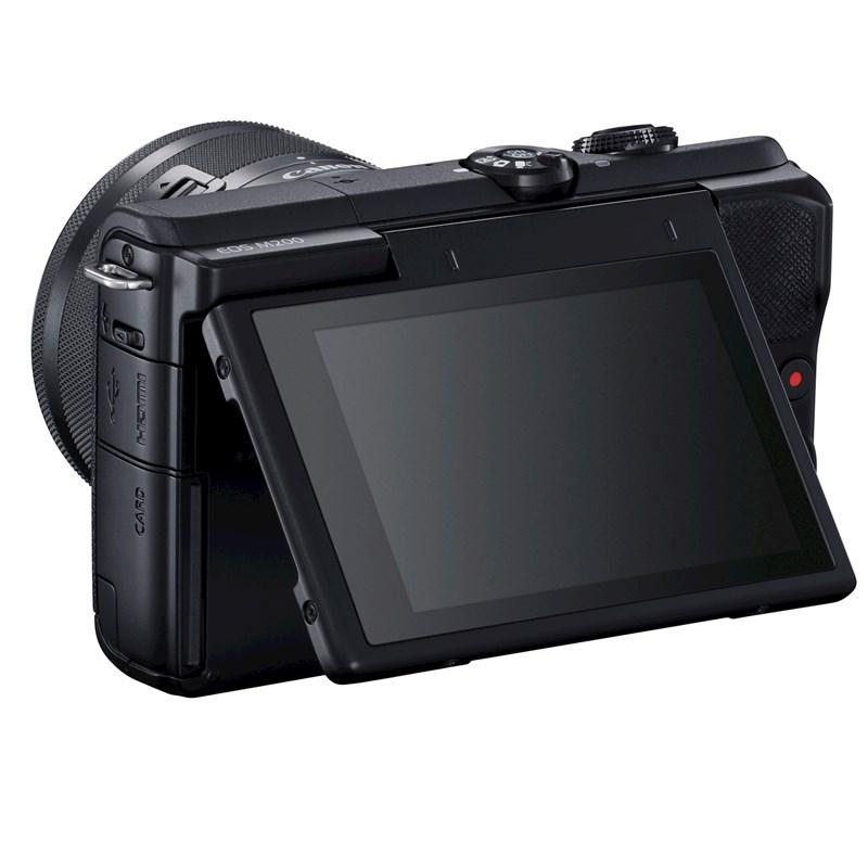 Canon lanza EOS M200, la cámara ideal para creadores de contenido - camara-eos-m200-canon