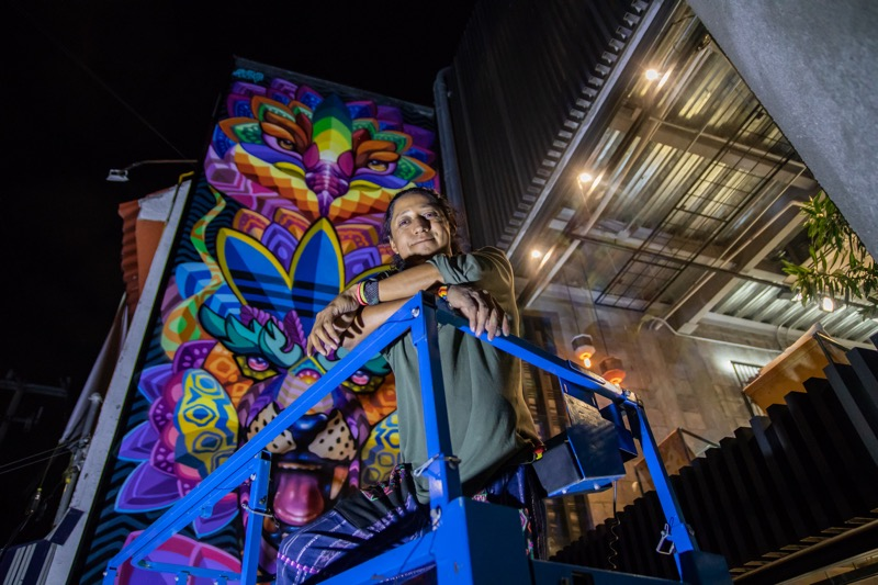 adidas México develó nuevo mural, en colaboración con el artista Farid Rueda - adidas-originals-flagship-store-mexico_farid_rueda_1-800x533