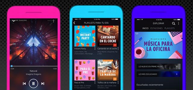 Ahora podrás escuchar música en modo manos libres desde la app de Amazon Music - app-amazon-music