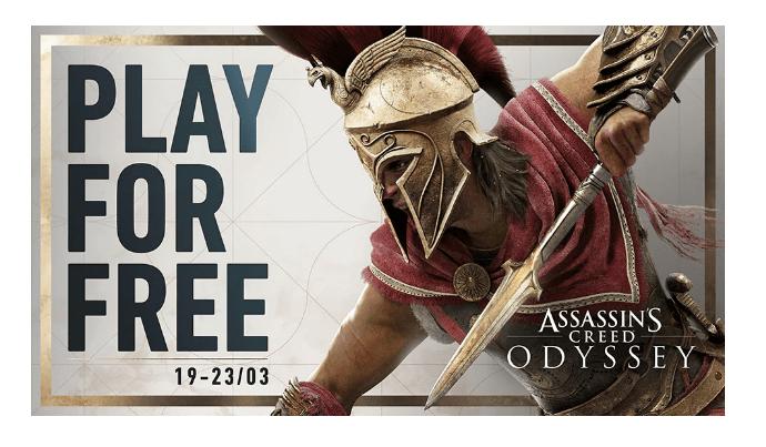 Fin de Semana Gratuito de Assassin's Creed Odyssey - assassins-creed-odyssey-play-free