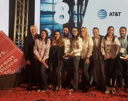 AT&T en México, una de las 10 mejores empresas para trabajar