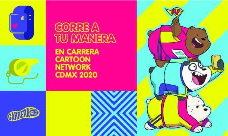 Carrera Cartoon Network 2020 regresa a la Ciudad de México