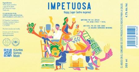 Impetuosa: una cerveza colaborativa hecha por mujeres mexicanas