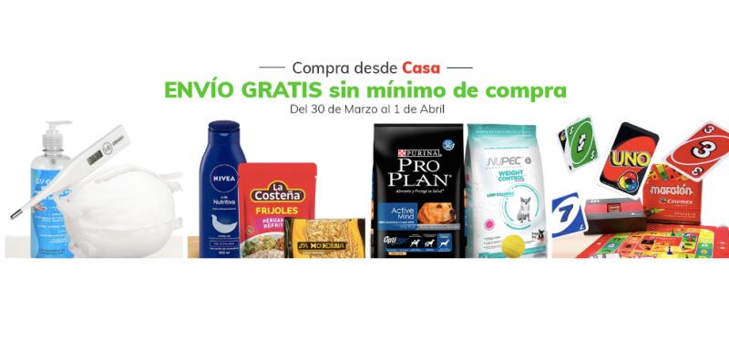 Claro Shop activa envíos gratuitos para productos de primera necesidad - claro-shop