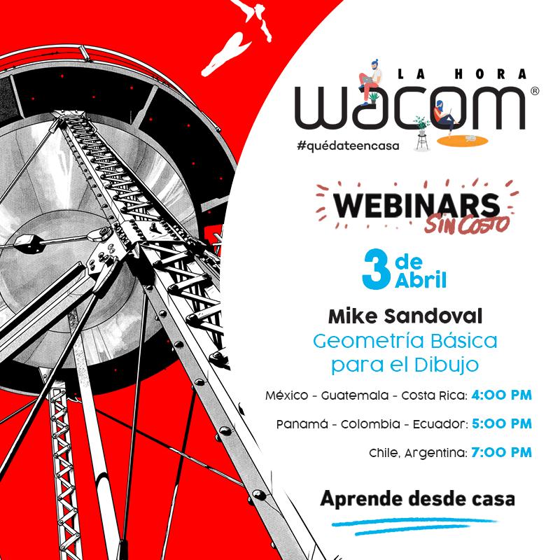 """Wacom se une a la iniciativa """"Quédate en casa"""" con webinars gratuitos - mike-sandoval"""