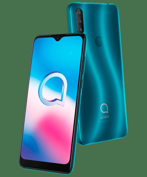 Alcatel 1S 2020, smartphone con triple cámara y batería de larga duración ¡llega a México! - alcatel-1s-2020_agate-green