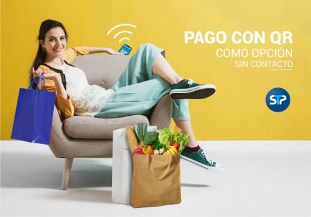 Pagar con códigos QR, sin contacto entre personas y ayuda a mantener sana distancia