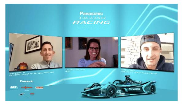 Jaguar Racing lanza serie de Video Podcasts de automovilismo deportivo - jaguar-racing-re-charge-at-home
