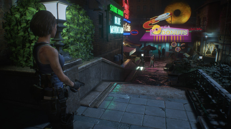 Resident Evil 3, ¡disponible en Xbox One! - jill-walks-down-raccoon-city-resident-evil-3-xbox-one