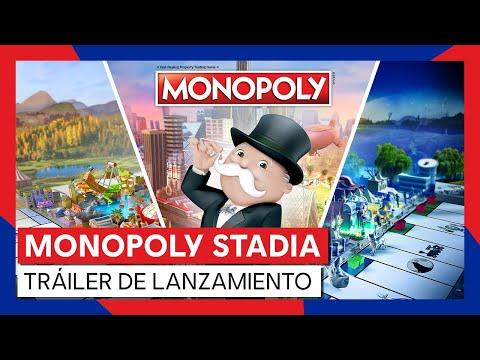 MONOPOLY ¡ya disponible en la plataforma de juegos de nueva generación Stadia! - monopoly-stadia