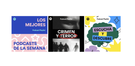 Spotify lanza nuevas playlists de podcasts editoriales