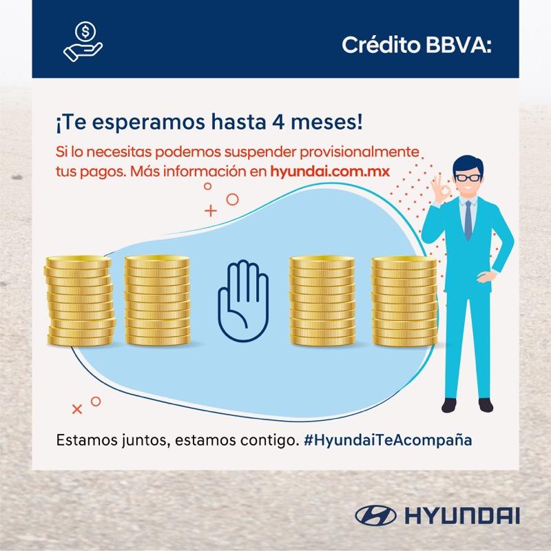 Hyundai apoya con Garantía Extendida y una prórroga en su crédito con BBVA - prorroga-credito-bbva-hyundai