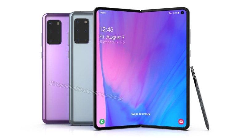 "Samsung Galaxy Fold 2 tendrá un modelo ""económico"" - samsung-galaxy-fold-2-leaked"