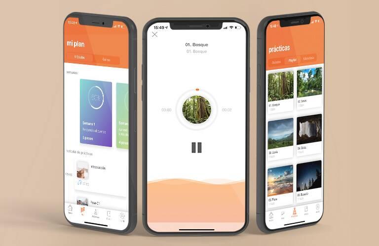 Natura lanza app gratuita de meditación - app-meditacion-natura
