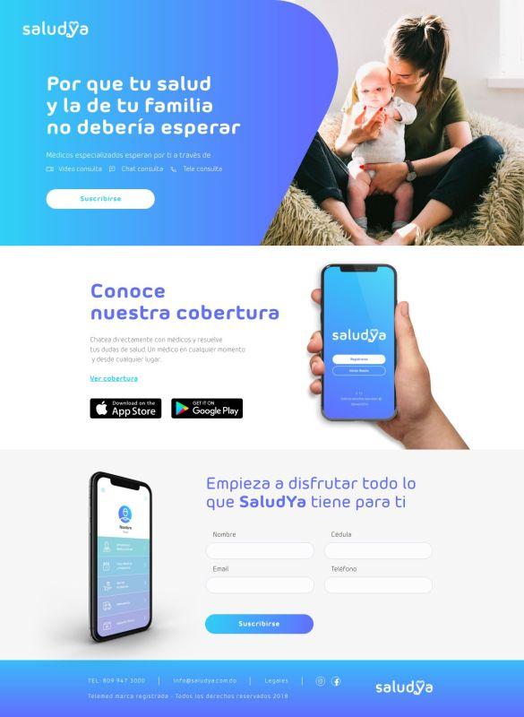 Mastercard y AXA presentan SaludYa, app de asistencia médica a distancia - app-saludya