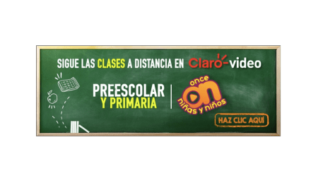"""Aprende en Casa"", proyecto educativo en línea de la SEP ¡disponible en Claro video!"