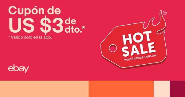 Cupón de descuento adicional de eBay para Hot Sale 2020 - ebay-cupon-de-descuento-adicional-hot-sale-2020