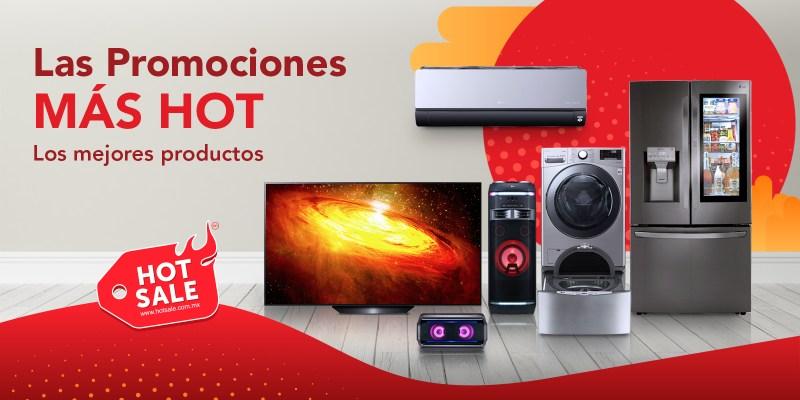 LG en el Hot Sale con descuentos de hasta el 65% y lanzamientos exclusivos - hot-sale-lg-800x400
