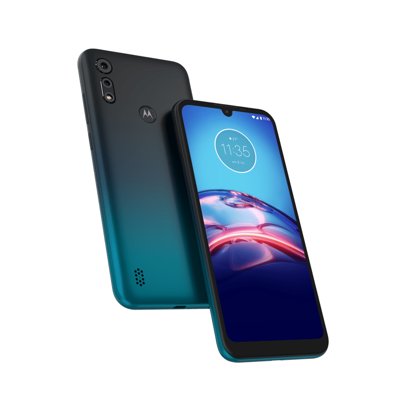 moto e6s y moto g8 power ¡disponibles en Telcel! - moto-e6-s_peacock-blue-1