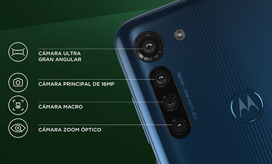 moto e6s y moto g8 power ¡disponibles en Telcel! - moto-g8-power-cuatro-camaras-1