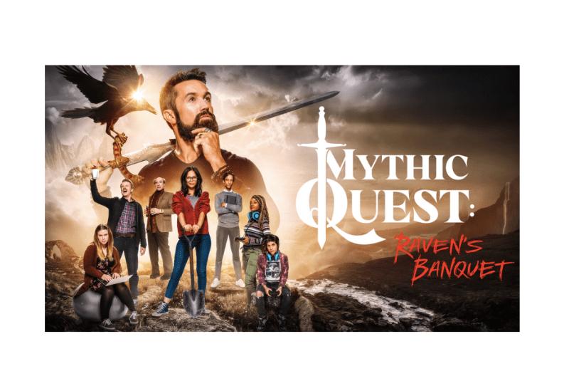 "Episodio especial de ""Mythic Quest"" filmado completamente en iPhone - mythic-quest-ravens-banquet-800x514"