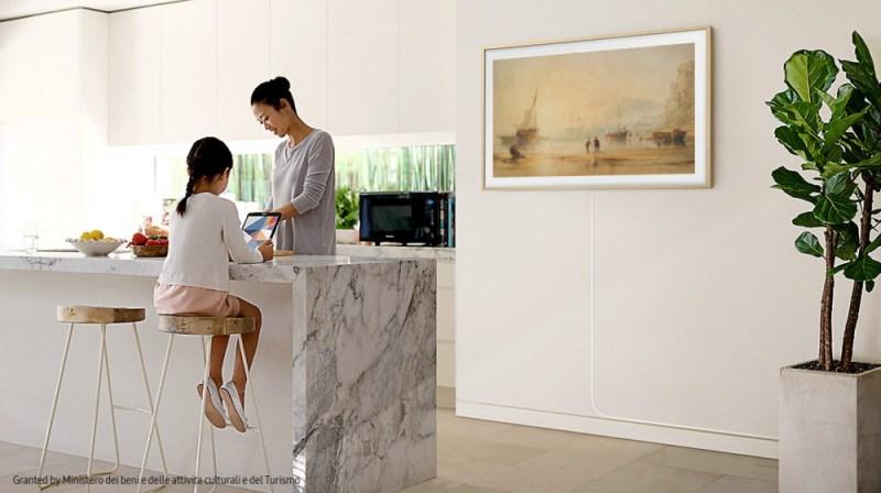 Usuarios de TV The Frame en México, ahora podrán transformar su sala en una galería de arte - samsung_the-frame_4-800x448