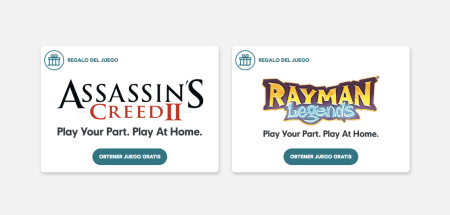 Ubisoft renueva los juegos gratis: Assassin's Creed II, Child of Light y Rayman Legends