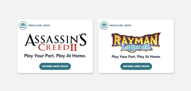Ubisoft renueva los juegos gratis: Assassin's Creed II, Child of Light y Rayman Legends - ubisoft-juegos-gratis-assassins-creed-ii-rayman-legends