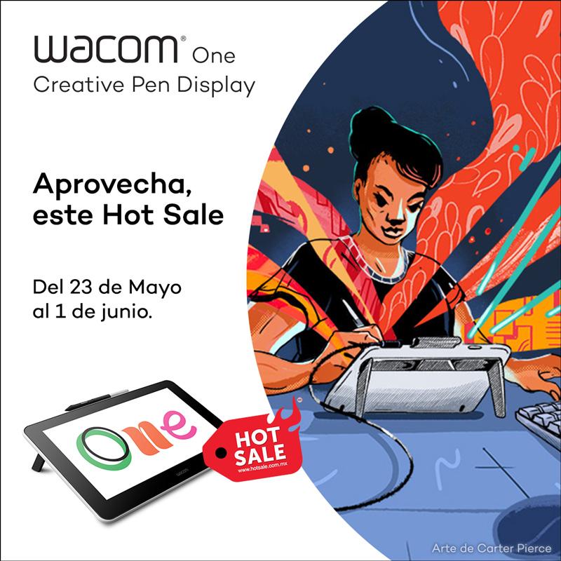 Las ofertas de Wacom en la séptima edición del Hot Sale 2020 - wacom_one_hot-sale