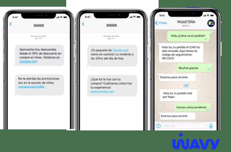 SMS y Whatsapp mejoran la comunicación y experiencia de compra durante Hot Sale 2020