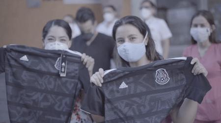 En colaboración con adidas, FMF y Club Tigres entregan jerseys en hospitales