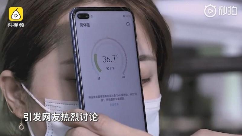 Honor lanza un smartphone que puede medir la temperatura corporal