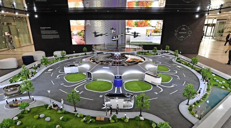 Hyundai presenta en miniatura un Ecosistema de movilidad inteligente - hyundai-ecosistema-de-movilidad-inteligente_1-800x444