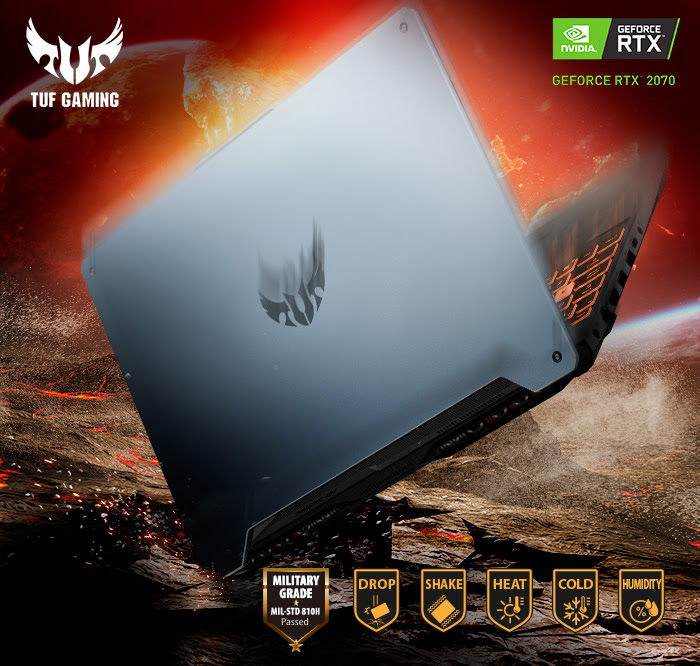 ASUS TUF A15, laptop gamer con gran rendimiento llega a México - tuf-gaming