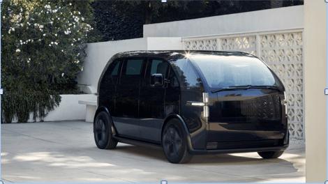 Nuevas empresas automotrices desarrollan vehículos con la plataforma de procesamiento NVIDIA DRIVE AGX - canoo_ev