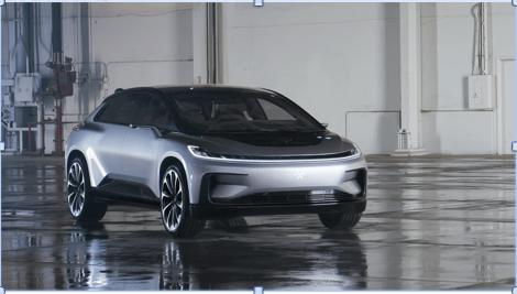 Nuevas empresas automotrices desarrollan vehículos con la plataforma de procesamiento NVIDIA DRIVE AGX - faraday_future_ff91
