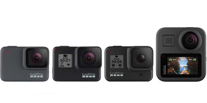 La HERO8 Black de GoPro, ahora disponible como cámara web HD