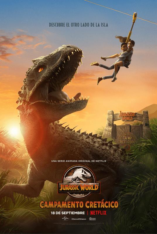 Jurassic World Campamento Cretácico ya con fecha de estreno por Netflix - jurassic-world-campamento-cretacico-537x800