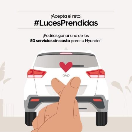 Únete al reto #LucesPrendidas Challenge de Hyundai México