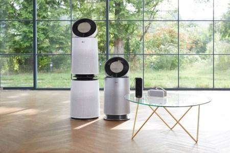 LG presenta nueva línea de purificadores de aire PuriCare 2020