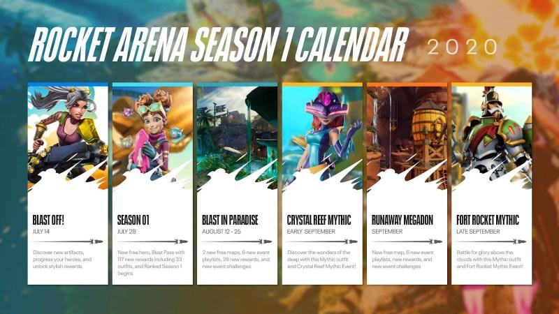 Ya disponible temporada 1 de Rocket Arena ¡fin de semana gratis! - rocket-arena-ea