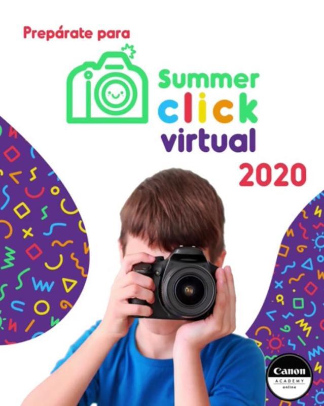 Canon presenta su Summer Click Virtual 2020