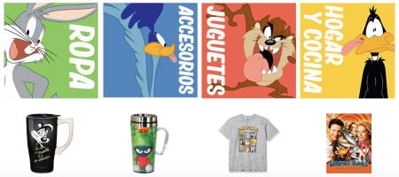 Nueva tienda oficial de los Looney Tunes en Amazon México