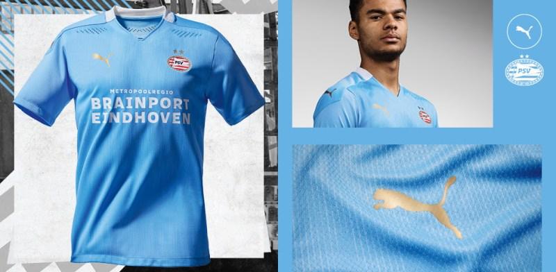 Lanzamiento oficial: Uniforme de Visita PUMA del PSV 2020-21