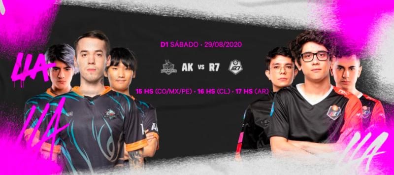 All Knights y Rainbow 7 protagonizarán la gran final de la LLA Clausura 2020 - all-knights-rainbow-7-800x355