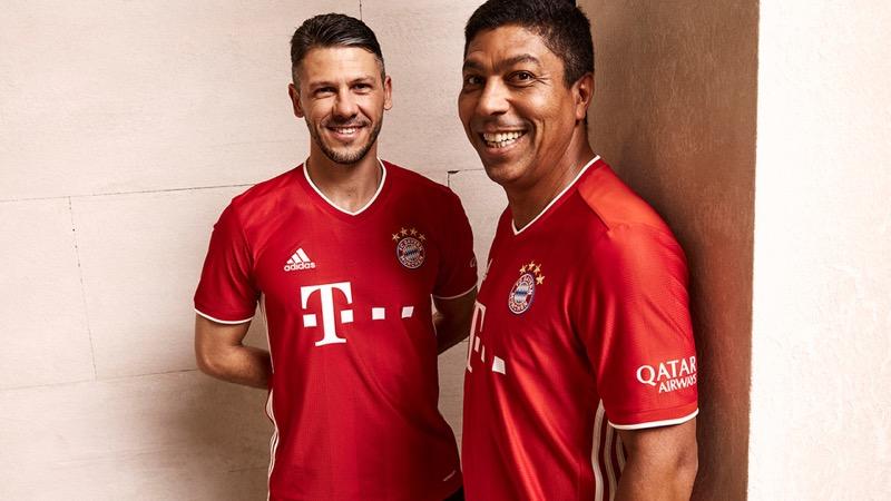 adidas presenta uniformes de clubes internacional para la temporada 2020/21 - jersey_bayern_munich_562131-800x450