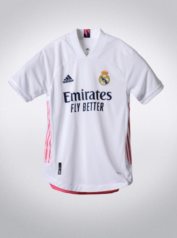 adidas presenta uniformes de clubes internacional para la temporada 2020/21 - jersey_real_madrid_2