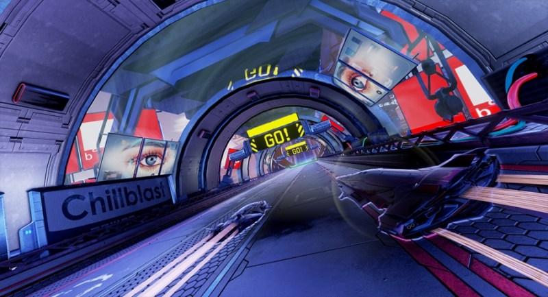 PACER: juego de carreras anti-Gravedad 4K llega el 17 de Septiembre a PC y Consolas - juego-de-carreras-y-combate-antigravedad